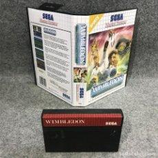Videojuegos y Consolas: WIMBLEDON SEGA MASTER SYSTEM SMS. Lote 295476383