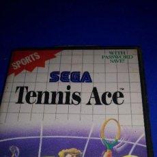 Videojuegos y Consolas: SEGA MASTER SYSTEM TENNIS ACE PAL. Lote 296067078