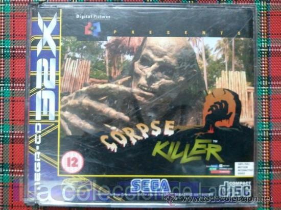 CORPSE KILLER SEGA MEGA CD 32X SEGA PAL ESPAÑA MUY RARO (Juguetes - Videojuegos y Consolas - Sega - Mega CD)