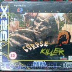 Videojuegos y Consolas: CORPSE KILLER SEGA MEGA CD 32X SEGA PAL ESPAÑA MUY RARO. Lote 28219017