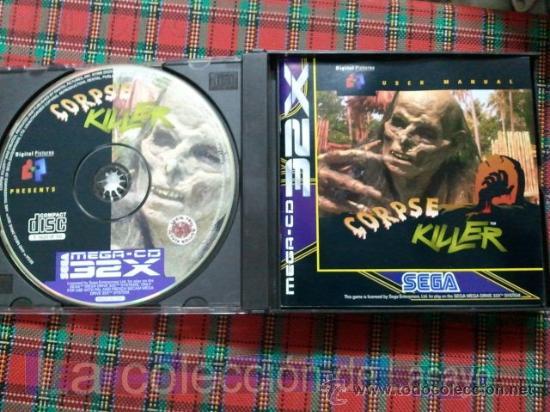 Videojuegos y Consolas: CORPSE KILLER SEGA MEGA CD 32X SEGA PAL ESPAÑA MUY RARO - Foto 2 - 28219017