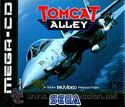 TOMCAT ALLEY MEGA CD SEGA ESPAÑA PAL (Juguetes - Videojuegos y Consolas - Sega - Mega CD)