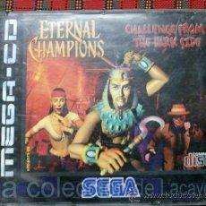 Videojuegos y Consolas: ETERNAL CHAMPIONS MEGA CD SEGA ESPAÑA PAL RARO. Lote 44173789