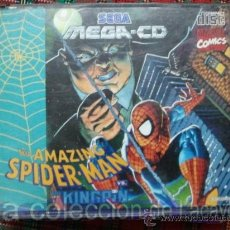 Videojuegos y Consolas: THE AMAZING SPIDER-MAN VS. KINGRIN MEGA CD SEGA ESPAÑA PAL. Lote 28228315