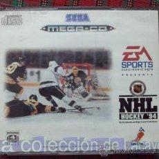 Videojuegos y Consolas: NHL HOCKEY 94 MEGA CD SEGA ESPAÑA PAL. Lote 28228348