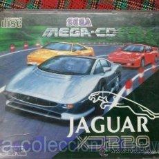 Videojuegos y Consolas: JAGUAR XJ220 MEGA CD SEGA ESPAÑA PAL. Lote 28228397
