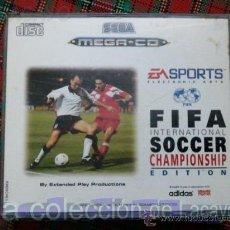 Videojuegos y Consolas: FIFA INTERNATIONAL SOCCER CHAMPIONSHIP EDITION MEGA CD SEGA ESPAÑA PAL. Lote 28228779