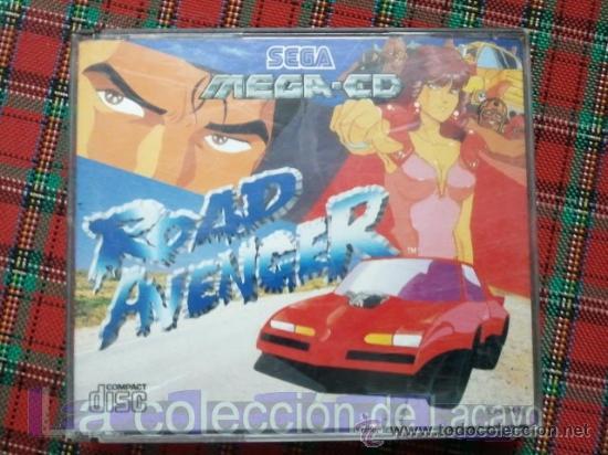 ROAD AVENGER MEGA CD SEGA ESPAÑA PAL (Juguetes - Videojuegos y Consolas - Sega - Mega CD)