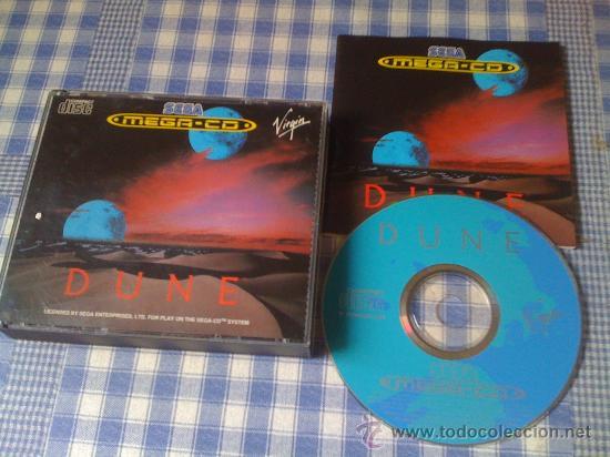 DUNE PARA SEGA MEGA CD MEGACD PAL COMPLETO Y EN BUEN ESTADO (Juguetes - Videojuegos y Consolas - Sega - Mega CD)