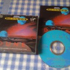 Videojuegos y Consolas: DUNE PARA SEGA MEGA CD MEGACD PAL COMPLETO Y EN BUEN ESTADO. Lote 29227024