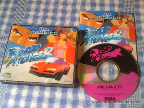 ROAD AVENGER PARA SEGA MEGA CD MEGACD PAL COMPLETO (Juguetes - Videojuegos y Consolas - Sega - Mega CD)