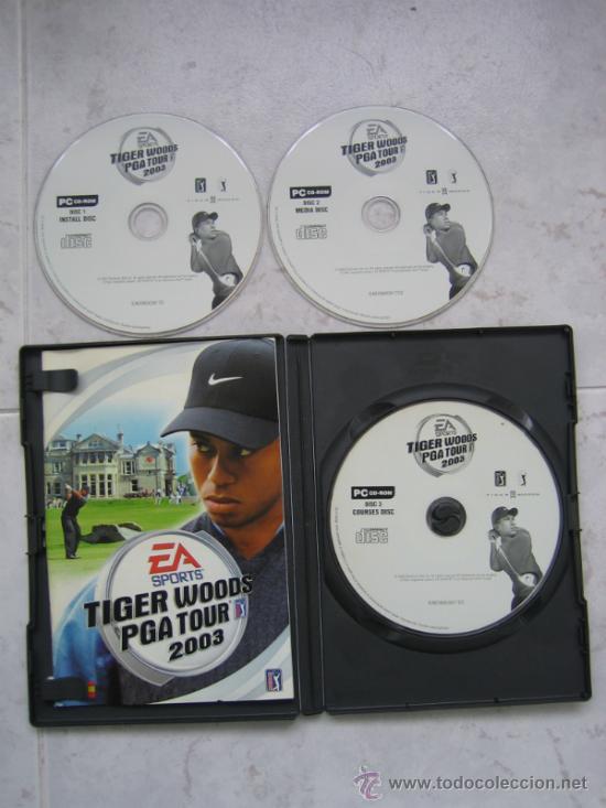 PC CD-ROM. EA SPORTS TIGER WOODS PGA TOUR 2003 (Juguetes - Videojuegos y Consolas - Sega - Mega CD)
