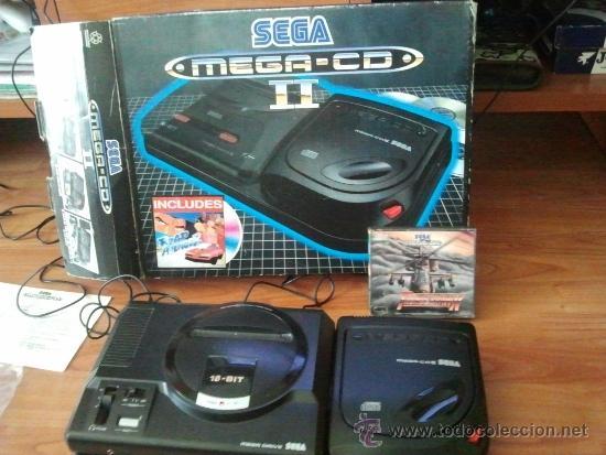 Videojuegos y Consolas: consola muy dificil de conseguir sega mega cd + caja + juego funcionando al 100% - Foto 2 - 37865924