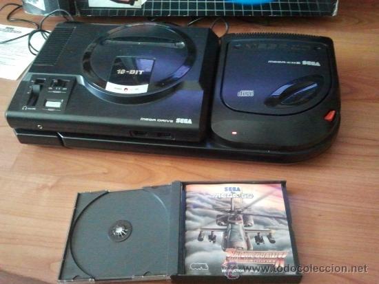 Videojuegos y Consolas: consola muy dificil de conseguir sega mega cd + caja + juego funcionando al 100% - Foto 5 - 37865924