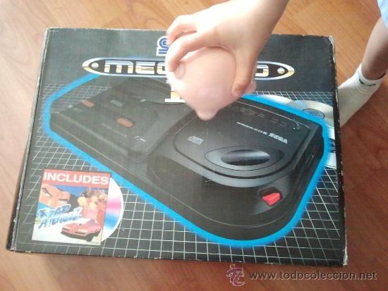 Videojuegos y Consolas: consola muy dificil de conseguir sega mega cd + caja + juego funcionando al 100% - Foto 6 - 37865924