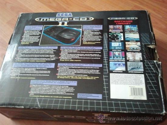Videojuegos y Consolas: consola muy dificil de conseguir sega mega cd + caja + juego funcionando al 100% - Foto 8 - 37865924