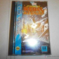 Videojuegos y Consolas: JUEGO SEGA CD (MEGA CD) STAR WARS REBEL ASSAULT. Lote 40483831