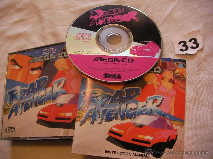 ANTIGUO JUEGO MEGA CD ROAD AVENGER (Juguetes - Videojuegos y Consolas - Sega - Mega CD)