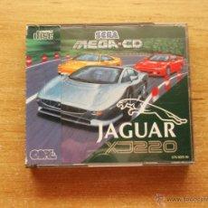 Videojuegos y Consolas: JAGUAR XJ 220 MEGA CD PAL ESPAÑA NUEVO DESPRECINTADO. Lote 33346463
