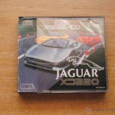 Videojuegos y Consolas: JAGUAR XJ220 MEGA CD PAL ESPAÑA NUEVO DESPRECINTADO. Lote 33346515