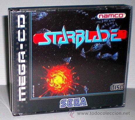 STARBLADE [NAMCO] 1994 [SEGA CD] [PAL] [SECAM] MEGACD SYSTEM 21 POLYGONIZER (Juguetes - Videojuegos y Consolas - Sega - Mega CD)
