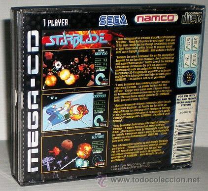 Videojuegos y Consolas: StarBlade [Namco] 1994 [SEGA CD] [PAL] [SECAM] MegaCD System 21 Polygonizer - Foto 2 - 44955157