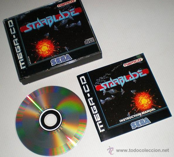 Videojuegos y Consolas: StarBlade [Namco] 1994 [SEGA CD] [PAL] [SECAM] MegaCD System 21 Polygonizer - Foto 4 - 44955157