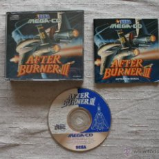 Videojuegos y Consolas: AFTER BURNER III SEGA MEGA CD PAL COMPLETO. Lote 45160473