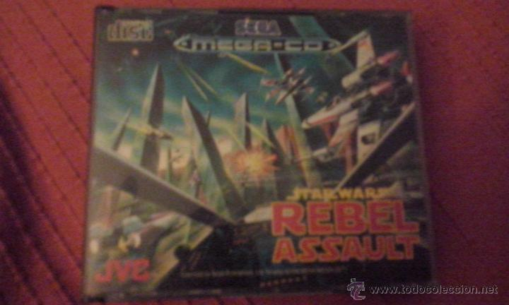 REBEL ASSAULT (Juguetes - Videojuegos y Consolas - Sega - Mega CD)