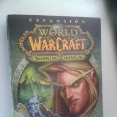 Videojuegos y Consolas: EXPANSION - WORLD OF WAR CRAFT - THE BURNING CRUSADE - 4 CDS. Lote 45889645