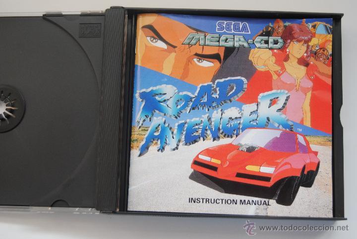 JUEGO SEGA MEGA CD ROAD AVENGER CON INSTRUCCIONES (Juguetes - Videojuegos y Consolas - Sega - Mega CD)