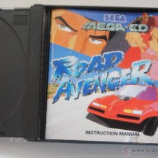 Videojogos e Consolas: JUEGO SEGA MEGA CD ROAD AVENGER CON INSTRUCCIONES . Lote 47391128