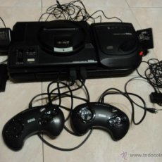 Videojuegos y Consolas: LOTE DE CONSOLAS SEGA MEGA CD 2 Y MEGA DRIVE COMPLETAS. Lote 47871452