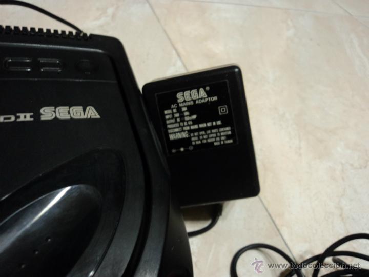 Videojuegos y Consolas: LOTE DE CONSOLAS SEGA MEGA CD 2 Y MEGA DRIVE COMPLETAS - Foto 5 - 47871452