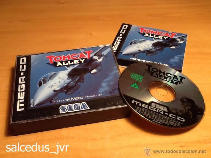 TOMCAT ALLEY JUEGO PARA SEGA MEGA CD MEGACD PAL COMPLETO MUY BUEN ESTADO (Juguetes - Videojuegos y Consolas - Sega - Mega CD)