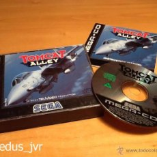 Videojuegos y Consolas: TOMCAT ALLEY JUEGO PARA SEGA MEGA CD MEGACD PAL COMPLETO MUY BUEN ESTADO. Lote 48392380