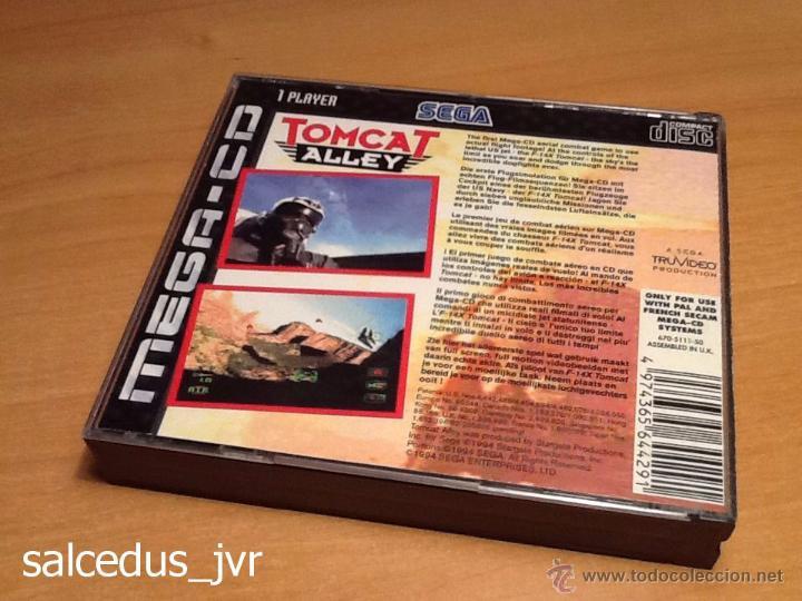 Videojuegos y Consolas: Tomcat Alley juego para Sega Mega CD MegaCD PAL Completo Muy Buen Estado - Foto 3 - 48392380
