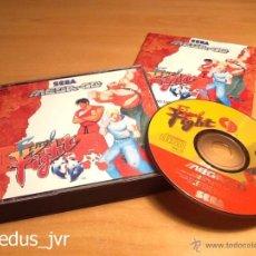 Videojuegos y Consolas: FINAL FIGHT CD JUEGO PARA SEGA MEGA CD MEGACD PAL COMPLETO EN BUEN ESTADO. Lote 163379726