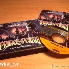 Videojuegos y Consolas: PRINCE OF PERSIA JUEGO PARA SEGA MEGA CD MEGACD PAL COMPLETO EN EXCELENTE ESTADO. Lote 48392479