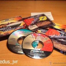 Videojuegos y Consolas: SOL-FEACE + COBRA COMMAND JUEGOS PARA SEGA MEGA CD MEGACD PAL COMPLETO EN EXCELENTE ESTADO. Lote 48392482