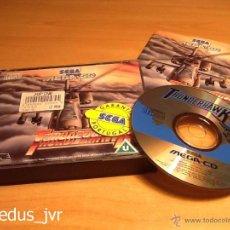 Videojuegos y Consolas: THUNDERHAWK JUEGO PARA SEGA MEGA-CD MEGACD PAL COMPLETO COMO NUEVO. Lote 48392490