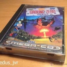 Videojuegos y Consolas: GROUND ZERO TEXAS JUEGO PARA SEGA MEGA-CD MEGACD PAL COMPLETO COMO NUEVO. Lote 48392547