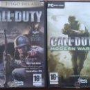 Videojuegos y Consolas: 2003 - 2007 CALL OF DUTY 1 Y 4. Lote 48873707