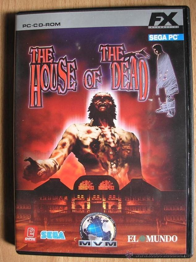 PC-CD-ROM | MÍTICO THE HOUSE OF THE DEAD / SEGA (Juguetes - Videojuegos y Consolas - Sega - Mega CD)