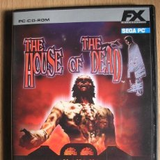 Videojuegos y Consolas: PC-CD-ROM | MÍTICO THE HOUSE OF THE DEAD / SEGA. Lote 53123948