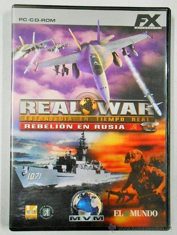 *OPORTUNIDAD* REAL WAR REBELIÓN EN RUSIA JUEGO DE PC CD-ROM DE FX (Juguetes - Videojuegos y Consolas - Sega - Mega CD)