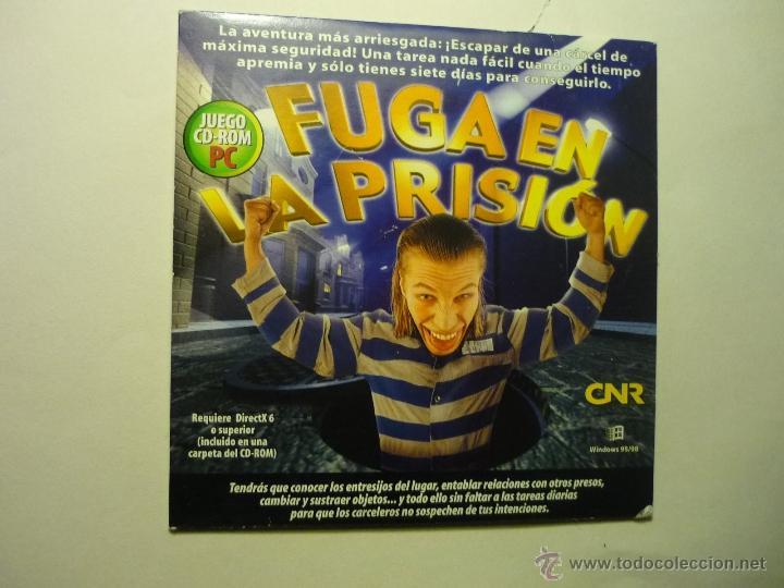 JUEGO CD ROM FUGA EN LA PRISION.- (Juguetes - Videojuegos y Consolas - Sega - Mega CD)