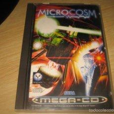 Videojuegos y Consolas: MICROCOSM SEGA MEGA CD PAL ESPAÑA PSYGNOSIS MICRO COSM RARE. Lote 55354587