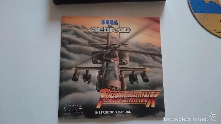 Videojuegos y Consolas: THUNDERHAWK THUNDER HAWK SEGA MEGA CD PAL ESPAÑA MEGA DRIVE.MUY BUEN ESTADO - Foto 3 - 56303271