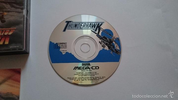 Videojuegos y Consolas: THUNDERHAWK THUNDER HAWK SEGA MEGA CD PAL ESPAÑA MEGA DRIVE.MUY BUEN ESTADO - Foto 4 - 56303271